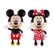 Baloane pentru botez cu Mickey şi Minnie Mouse