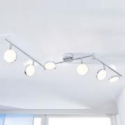 Lindby - LED Plafonnier 'Keylan' en métal pour salon & salle à manger