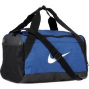 Nike NK BRSLA S DUFF Travel Duffel Bag(Blue, Black)