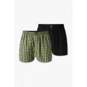 C&A Boxershorts-biokatoen-duopack, Geruit, Maat: S