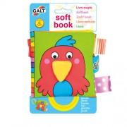 James Galt & Co. Ltd Galt Soft Book Libretti In Stoffa Disegno Pappagallo 1 Pezzo
