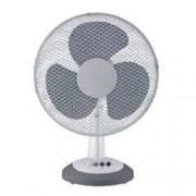 Настолен вентилатор ESPERANSA ES 1760 DC12, 300 mm диаметър, 3 скорости, вертикално наклоняване, 30W, бял