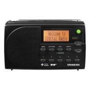 DPR-65 Basic BLACK Hordozható rádió DAB+ és FM-RDS LCD kijelzővel