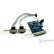 Extensie port Approx APPPCIE1P2S 2 buc. liniar/1buc. paralel PCI-E