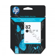 Мастило HP 82, Black (69 ml), p/n CH565A - Оригинален HP консуматив - касета с мастило