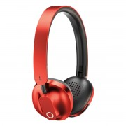 BASEUS Encok D01 Foldable Stereo Bluetooth V4.2 Over-ear Headset with Mic - Red