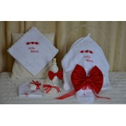 Trusou Botez Red Bow - 7 piese