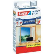 TESA COMFORT szúnyogháló ablakra, 1,3 x 1,3 m, antracit (530491)