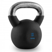 V-ket 16 Kettlebell Peso Vinil Áspero Fitness Musculação 16 kg