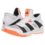 adidas Stabil X Mid Footwear WhiteCore BlackSolar Orange