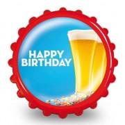 Geen Bierdop opener verjaardag