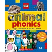 Animals Phonics Box Set: A Lego Adventure in the Real World, Hardcover/Penelope Arlon
