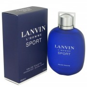 Lanvin L'homme Sport by Lanvin Eau De Toilette Spray 3.3 oz