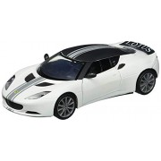 Motormax - 1/24 Satin Paint Die-Cast Collection Lotus Evora S (Matte White)