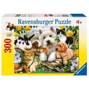 Puzzle animale prietenoase, 300 piese Ravensburger