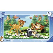 Ravensburger Puzzle – 06039 – Child with – Bambi and his Friends – 15 Pieces