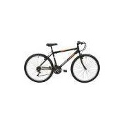 Bicicleta Polimet MTB Aro 26 18 Marchas - Preta