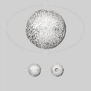 Bile crete 6mm placate cu argint