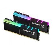 G.Skill Trident Z RGB 16GB DDR4 módulo de Memoria (16 GB, 2 x 8 GB, DDR4, 3000 MHz, 288-pin DIMM, Negro)