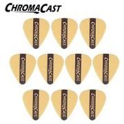 ChromaCast CC-DP-Y-10PK Dura Picks - 10 Pick Pack - Yellow