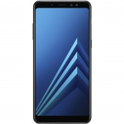 Telefon mobil Samsung Galaxy A8 (2018) Dual Sim 5.6'', Black, 4G, RAM 4GB, Stocare 32GB, Camera 16MP+8MP/16MP