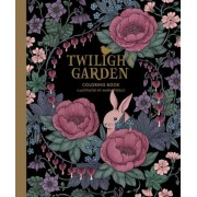 """Twilight Garden Coloring Book: Published in Sweden as """"Blomstermandala"""", Hardcover"""