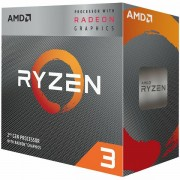 Procesor AMD Desktop Ryzen 3 4C/4T 2200G 3.7GHz,6MB,65W,AM4 box, RX Vega Graphics, with Wraith Stealth cooler