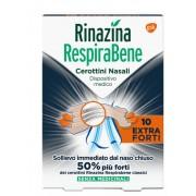 Glaxosmithkline C.Health.Spa Rinazina Respirabene Cerotti Nasali Extra Forti 10 Pezzi