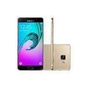 Smartphone Samsung Galaxy A5 2016 Dual Chip Android 5.1 Tela 5.2 16GB 4G Câmera 13MP - Dourado