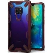 Husa Huawei Mate 20 Ringke FUSION X Transparent Rosu