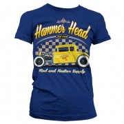 Hammer Head Hot Rod Girly T-Shirt