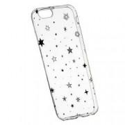 Husa Silicon Transparent Slim Star 143 Apple iPhone 6 PLUS 6S PLUS