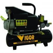 Compressore aria vigor vca-8l 9 litri / 220v / 1 cilindro / trasmissione diretta / 1 hp