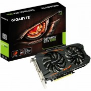 GIGABYTE Video Card GeForce GTX 1050 OC GDDR5 2GB/128bit, 1392MHz/7008MHz, PCI-E 3.0 x16, 3xHDMI, DVI-D, DP, WINDFORCE 2X Cooler Double Slot, Backplate, Retail GV-N1050WF2OC-2GD