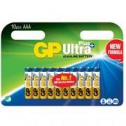 Gp Batteries Confezione 10 Batterie GP Ultra Plus Alcaline Ministilo AAA 24AUP/LR03