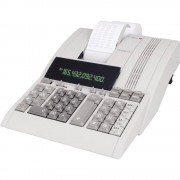 Ispisni stolni kalkulator Olympia CPD 5212 Bež boja Zaslon (broj mjesta): 12 strujni pogon (Š x V x d) 218 x 90 x 289 mm