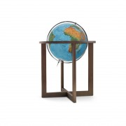 Räthgloben Räth Handkaschierter Stand-Leuchtglobus Globus Erth Erde Welt Weltkugel 50cm Durch...