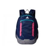 adidas Excel IV Backpack Dark BlueOnix JerseyHi - Res Aqua GreenShock Pink