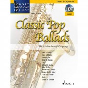 Schott Music Classic Pop Ballads - Ten-Sax. Juchem, Buch/CD