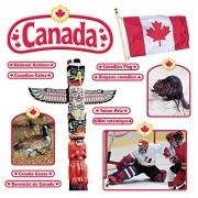 Trend Enterprises Canadian Symbols (En/Fr) Bulletin Board Set (33 Piece)