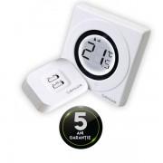 Termostat fara fir Salus ST 320 RF, 5 ani garantie, inel tactil