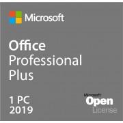 Microsoft Office 2019ProfessionalPlus Open License apto para servidor de terminales licencia por volumen