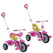 Smart Trike Play, Pink/Yellow/White