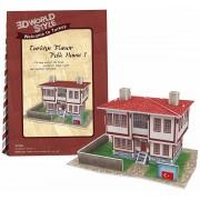 Puzzle 3D CubicFun CBFB Casa turceasca Model 1