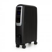 Klarstein Thermaxx Noir, olajradiátor, 2500 W, 10 - 30 °C, 24-órás időzítő, távirányító, fekete (DSM6-Thermx-Noir)
