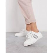 Carvela side stripe trainers-White - female - White - Size: 7