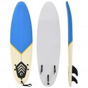 vidaXL surfilaud, 170 cm, sinine ja kreemjas