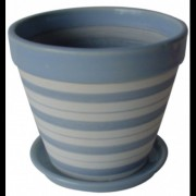 Ghiveci din ceramica pentru flori cu suport, 6139, MN019713, Feronya