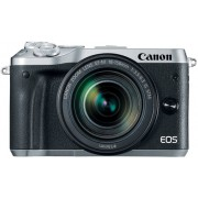 CANON Eos M6 + 18-150mm f/3.5-6.3 EF-M IS STM Prata