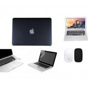 Case Carcasa + Protector De Teclado / Pantalla / Trackpad / Magic Mouse Cover Para Macbook Pro 13'' Touch Bar Model (A1706) -Negro
